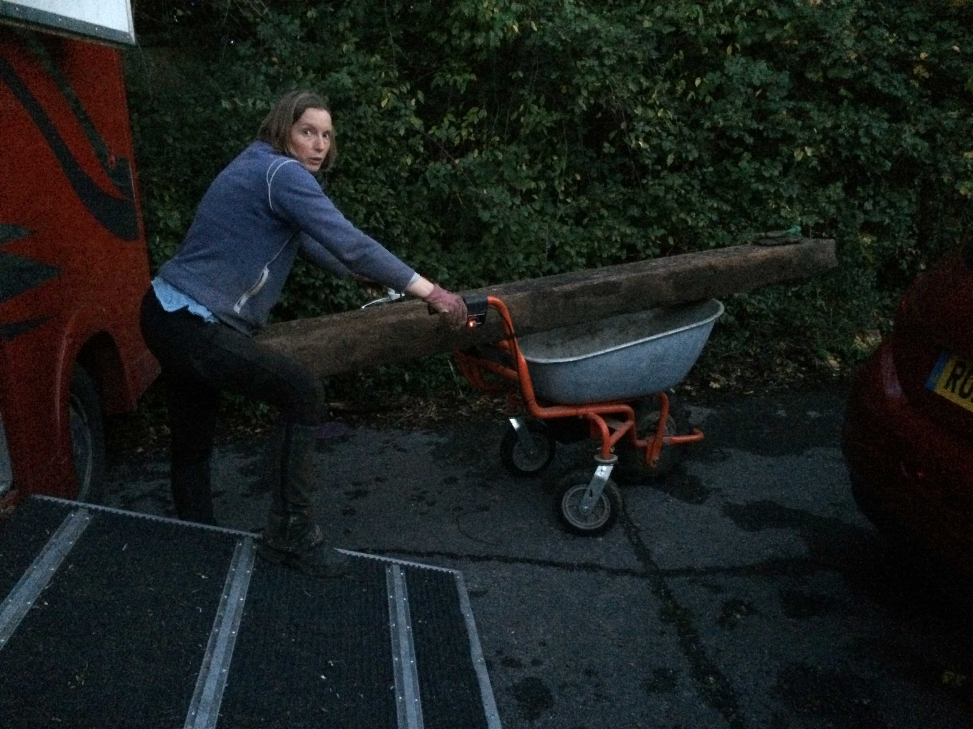 Wheelbarrow sleeper 2