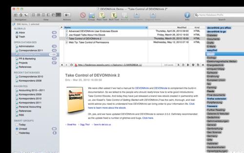 DevonThink Software