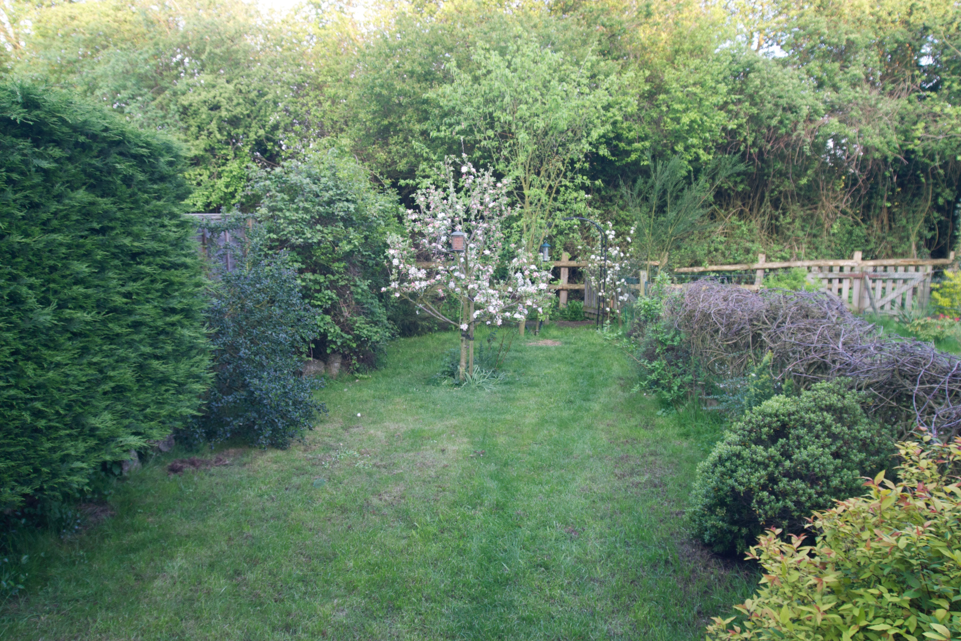 Original garden circa 2004 - Away from house
