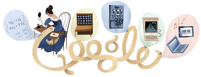 Google Doodle of Ada Lovelace