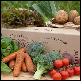 Small Veg box from Riverford