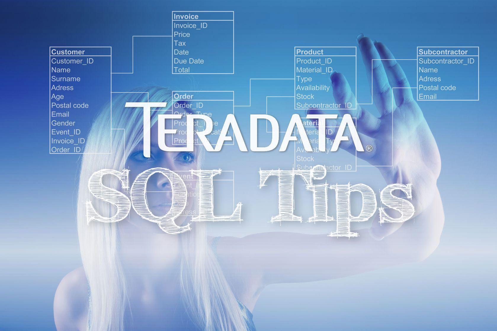Using Teradata SQL: Finding a person's age
